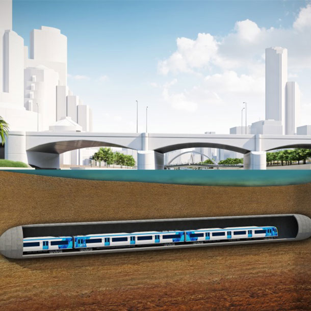 Métro de Melbourne: Bouygues participera à la construction d'un tunnel
