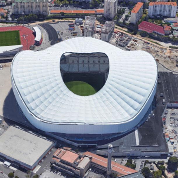 Au stade Vélodrome de Marseille, discorde entre club et Arema (groupe Bouygues)