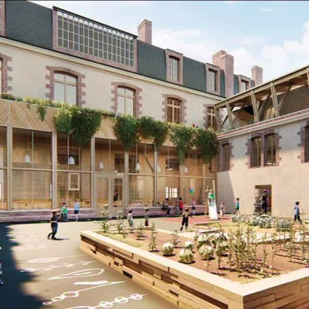Patrimoine: l'Hôtel Pasteur de Rennes, modèle de rénovation participative