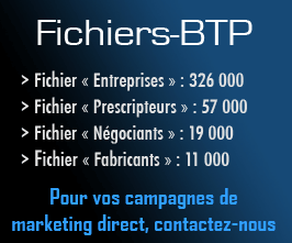 Les Fichiers du BTP - Marketing Direct
