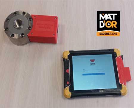 Capteurs de pression béton connectés