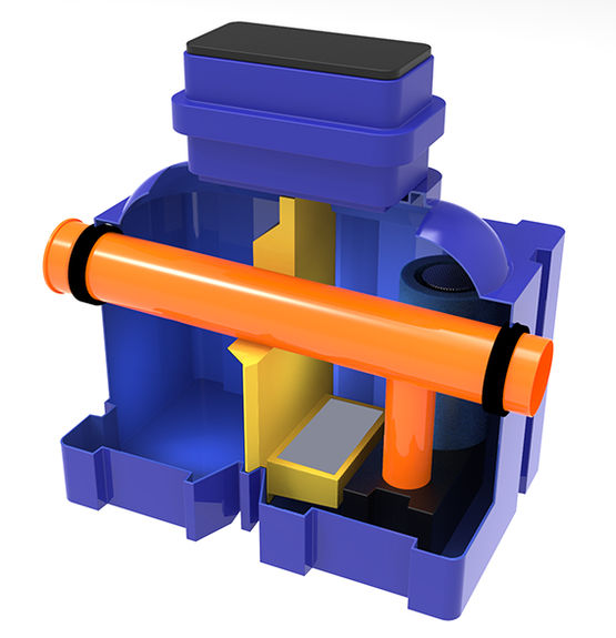Séparateurs d'hydrocarbures hybrides